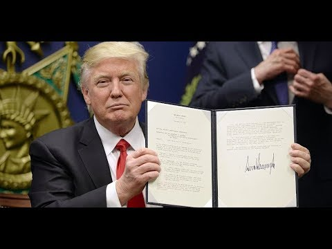 President Donald Trump Signs VITAL Right to Try Pharmaceutical Act Bill