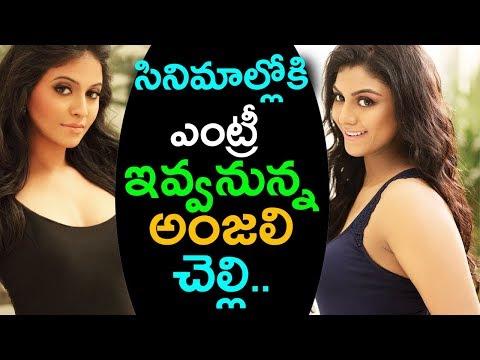Heroine Anjali Sister Aaradhya Entry Into Film Industry | Telugu Heroines Sisters | indiontvnews