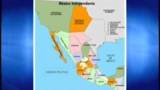 geografia i méxico y sus fronteras a lo largo de la historia