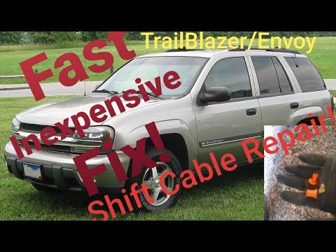 Trailblazer/Envoy shifter cable repair