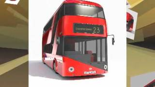 2012 London Double Decker Bus - 3D Model