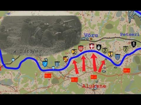 Eesti Vabadussõda kaardil