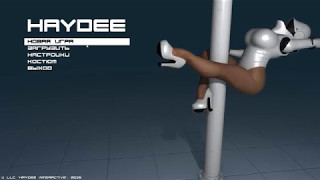 Haydee Mod Animated Main Menu Pole