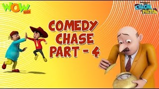 Comedy Chase Part 4 - Chacha Bhatija -Funny Compilations - 3D Animation Cartoon for Kids
