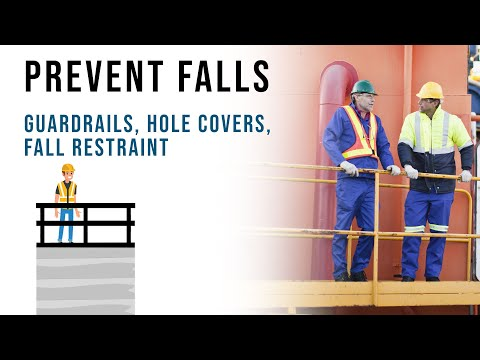 Fall Prevention | Guardrails, Hole Covers, Fall Restraint Systems, Oregon OSHA
