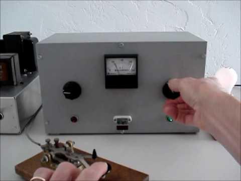 ARRL One-Tube CW Novice Transmitter- 1962 Design
