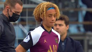 17 Years Old Xavi Simons Ligue Debut for PSG 10/04/2021