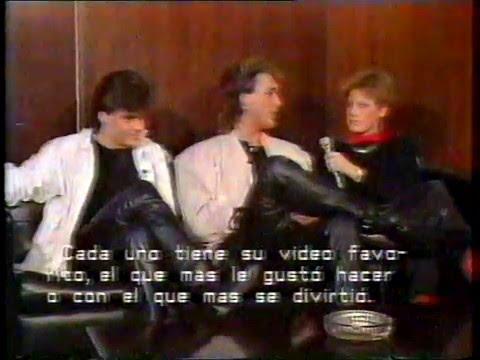 "Spandau Ballet Interview ""Disco Visto"" 28-03-85"