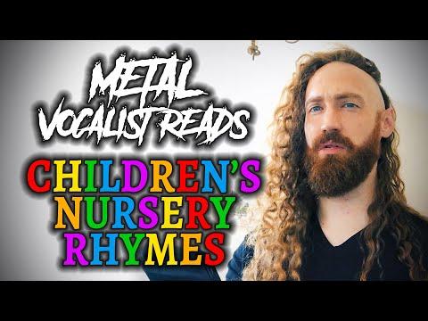BLACK CROWN INITIATE Vocalist Reads Children's Nursery Rhymes