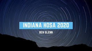 INDIANA HOSA 2020 Keynote Speaker Ben Glenn