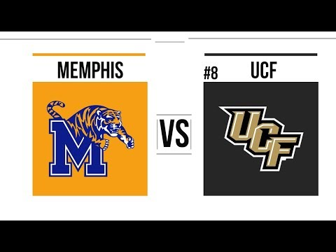 2018 AAC Championship Game Memphis vs #8 UCF Full Game Highlights