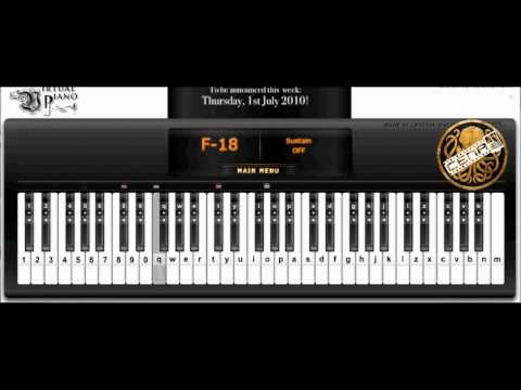 The Myth (Endless Love) Virtual Piano with AutoKeyboard
