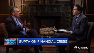 Rajat Gupta on the financial crisis: Prosecutors should have gone after individuals not financial in