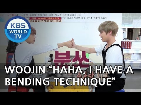Jihoon vs Woojin Let's see who's stronger..?! LOL[Battle Trip/2018.05.20]