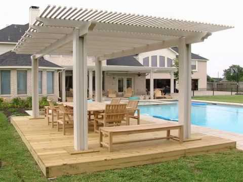 calculate the cost for composite wood pergola