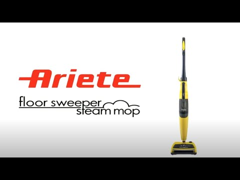 Scopa A Vapore Ariete.Ariete Steam Sweeper 2705 Youtube