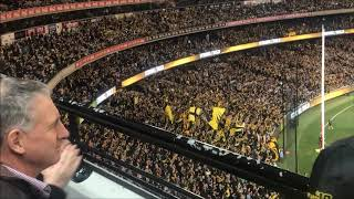 AFL Preliminary Final #1 2018 Richmond Tigers vs Collingwood Magpies Vlog