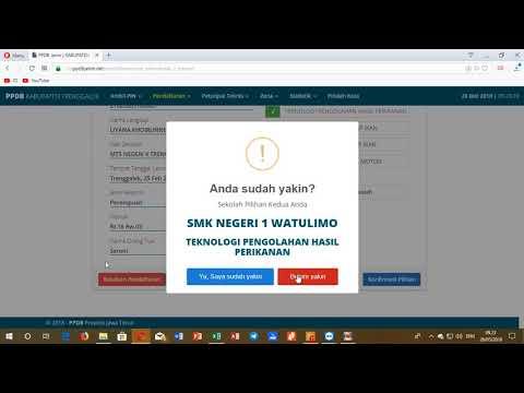 Tutorial Pendaftaran Online PPDB Jatim 2018