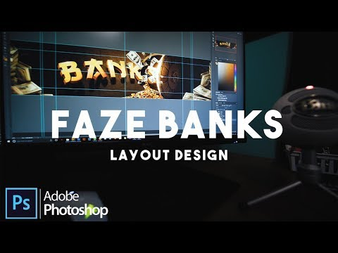 "FaZe Banks 2017 Layout Design - Aaron ""Big E"" Speedart [4K]"