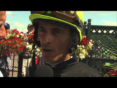 Post Race Interview - John Velazquez on his 800th Win