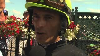 Post Race Interview - John Velazquez on his 800th Win
