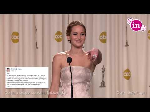 Jennifer Lawrence: DAS sagt sie zu ihrem Strip-Video!