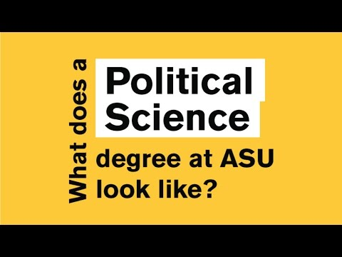 What does a degree in Political Science look like?