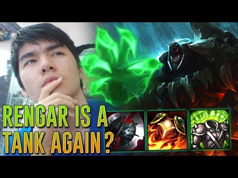 NEW HIGH ELO RENGAR TOP BUILD ? GRASP TANK RENGAR TOP GAMEPL