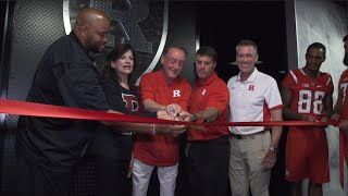 RVision: Football Unveils Renovated Weight Room