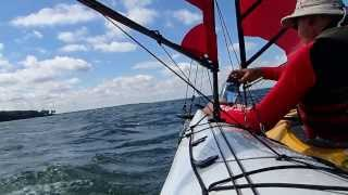 Kayak Sailing with Falcon Sails  Video 1 Thumbnail