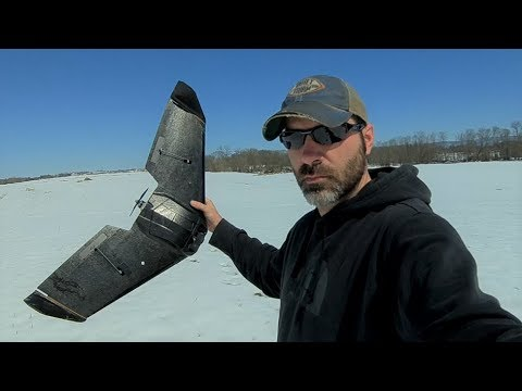 WHAT A ROCKET!!! Theer FPV Racing WING
