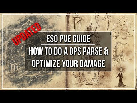 ESO How to do a DPS Parse and Optimize Your Damage (Guide)