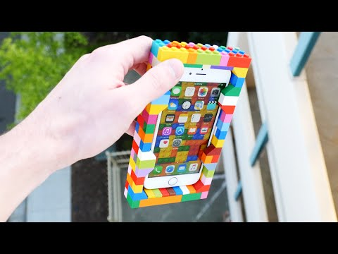 Thumbnail: Can LEGO Protect an iPhone 6S from 100 FT Drop Test?