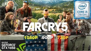 Far Cry 5 on GTX 1050 - I5 7500