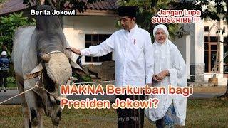 Makna Berkurban Bagi Presien Jokowi di Hari Raya Idul Adha