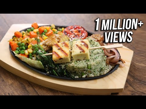 Paneer Shaslik Sizzler | Best Sizzler Recipe | The Bombay Chef - Varun Inamdar