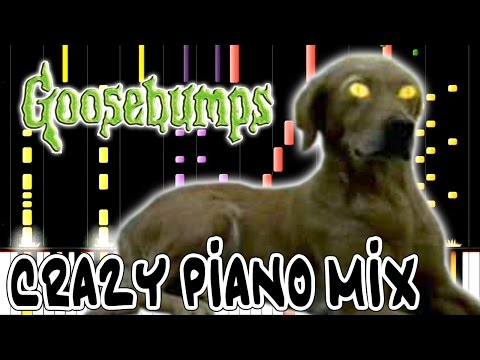 Crazy Piano! GOOSEBUMPS THEME