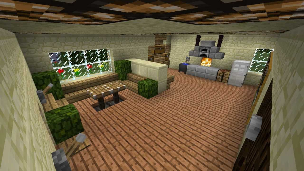 Minecraft Küche Einrichtung | ᐅ Schickes Einfamilienhaus ...