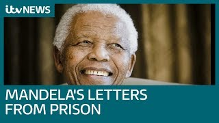 Nelson Mandela's prison letters illustrate his heartbreaking struggle behind bars | ITV News