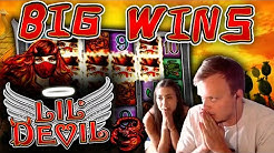 2 BONUSES! - SUPER BIG WIN on Lil Devil + HEARTSTOPPER BONUS!!!