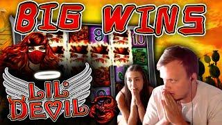 2 BONUSES! - SUPER BIG WIN on Lil Devil + HEARTSTOPPER BONUS!!!
