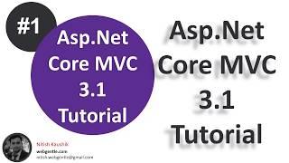 (#1) Asp.Net Core MVC 3.1 course overview | Asp.Net Core MVC 3.1 tutorial for beginners