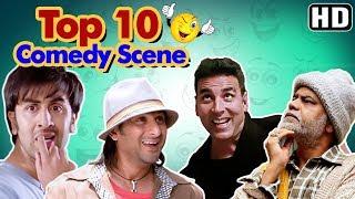 Shemaroo Bollywood Comedy - Top 10 Comedy Scenes (HD) Ft - Arshad Warsi | Akshay Kumar |Johnny Lever