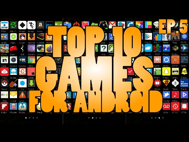 Top 10 Games For Android ( November 2014 )