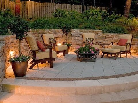 Beautiful Brick Patio Design Ideas - YouTube