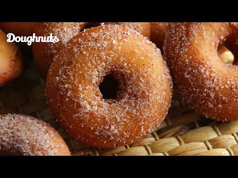 DOUGHNUTS|How To make Doughnuts|ఈ టిప్స్ తో చేస్తేనే బేకరీ స్టైల్ డోనట్స్ వస్తాయ్|Doughnuts inTelugu