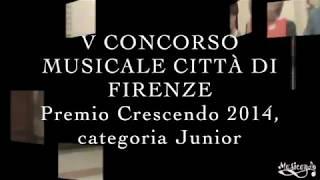 Scuola di musica Musicando presenta: Selene Tarabini - Concorso Crescendo 2014