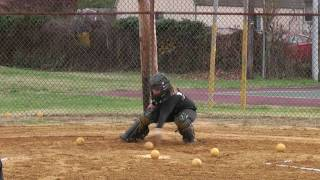 Amanda Gardiner Softball Skills Video