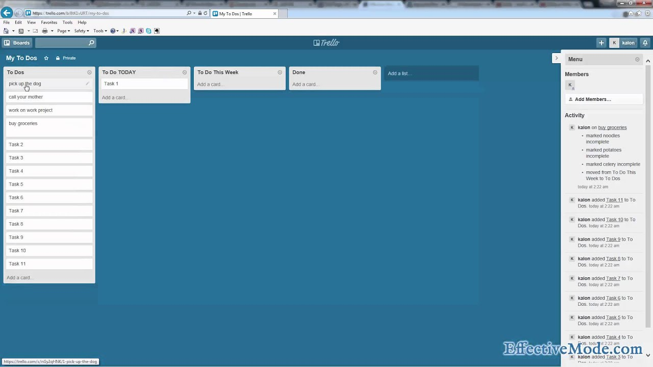 Trello - Task Management System