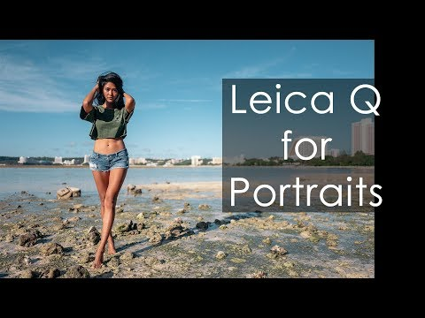 Leica Q for Portraits feat. Guam Model Vanessa Villanueva